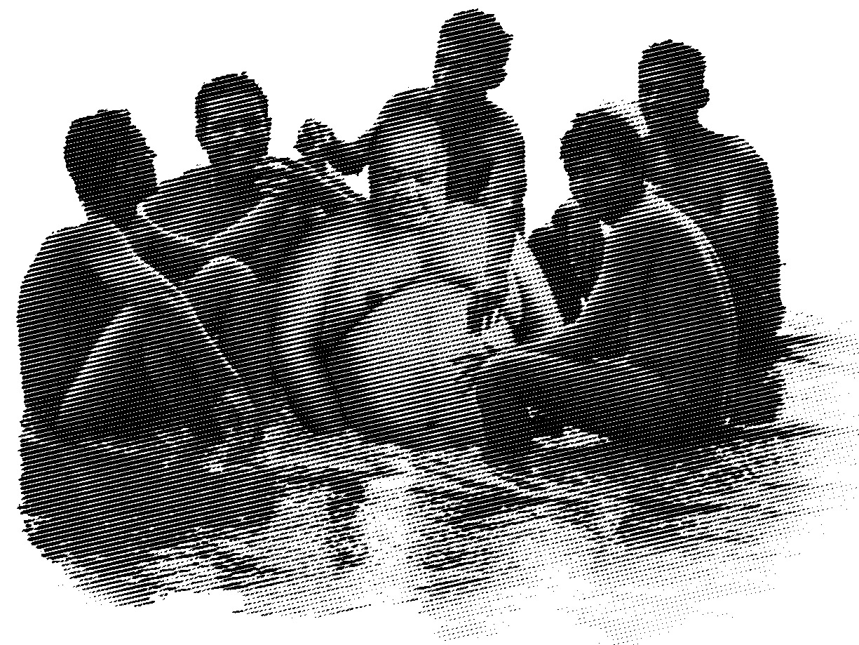 Lyacsa bathing with his boys